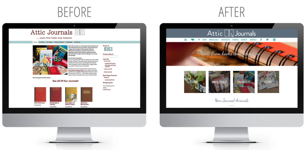 shopify web design inspiration