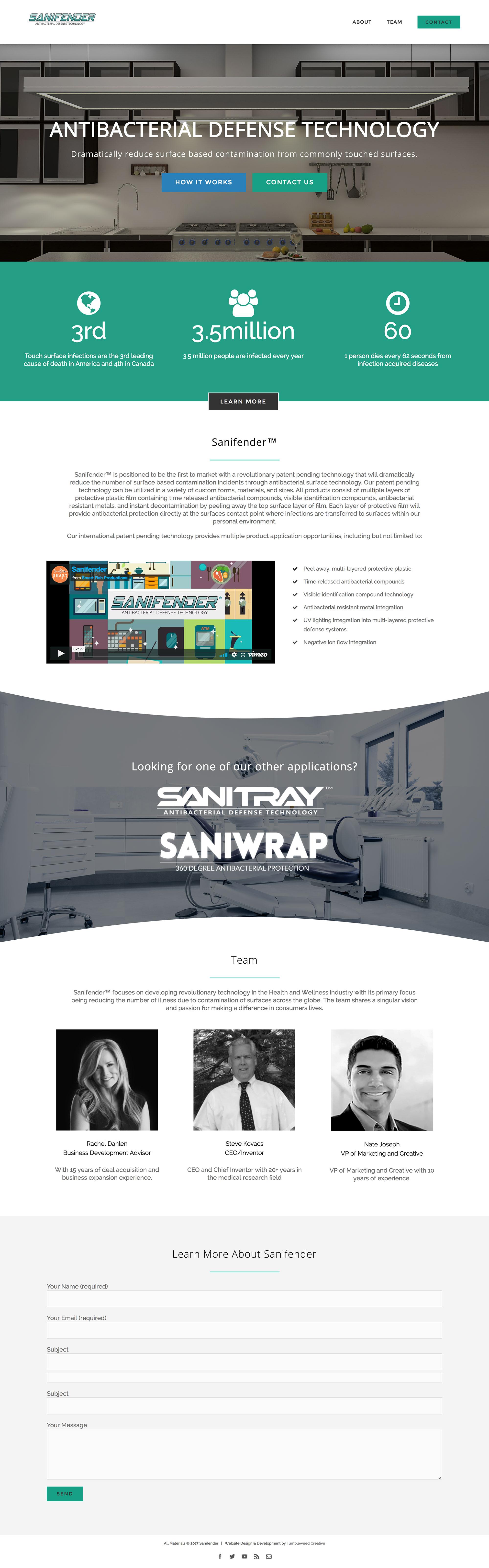 wordpress website technology industry